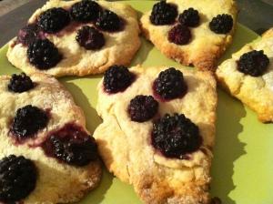 blackberry biscuits