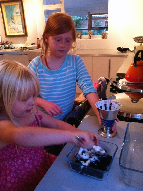 cooking blackberries